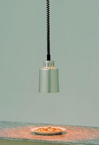 Scholl Wärmestrahler, Heizlampe Alu silber