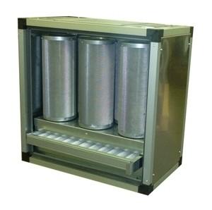 Abluftreinigungsanlage, ohne Motor, max. 1.400m³/h, für die Gastronomie.