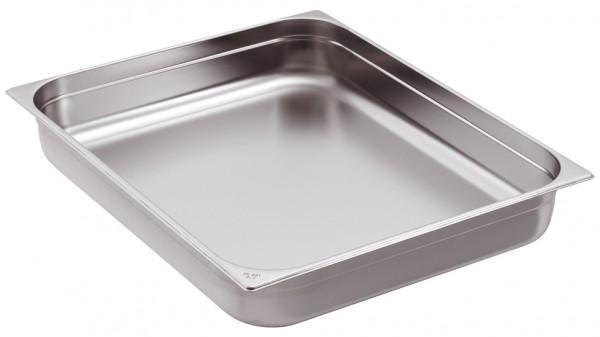 GN-Behälter Edelstahl 1/2 6,5 cm, 4 Liter