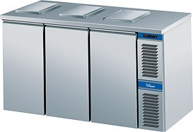 Cool Compact Abfallkühler / Konfiskatkühler 3 x 120 Liter, Voll-Edelstahl