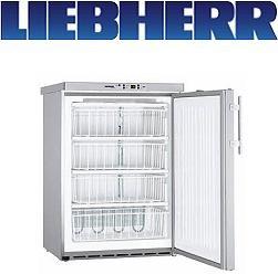 Liebherr GGU 1550 Tiefkühlschrank statisch unterbaufähig Teil-Edelstahl