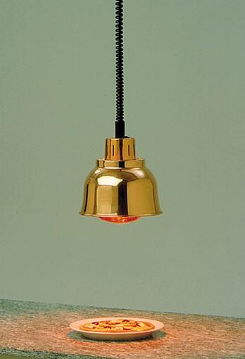 Scholl Wärmestrahler, Heizlampe Messing