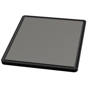 Tecnoinox Grillplatten-Aufsatz, glatt, Einzelrost für Gasherde Serie 700, 280x320mm