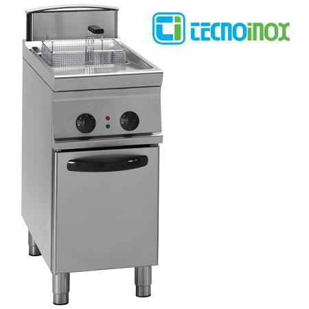 Gas-Fritteuse Tecnoinox 1x13 Liter FRV43FG7 Gastronomie-Friteuse