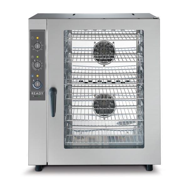 Gastronomie Konvektionsofen LAINOX 10 x GN 1/1 mit Befeuchter, Elektro Heissluftofen, 12,5kW