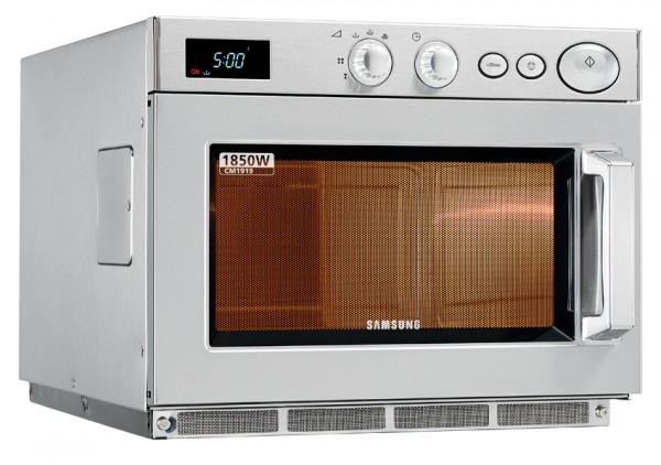 Gastronomie Edelstahl Mikrowelle Samsung CE 1010 - 26 ltr, 1000W