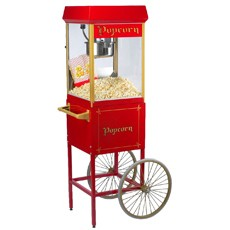 2-Rad Unterwagen für Popcorn-Maschine 4 Oz/115 Gramm