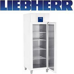 Liebherr GGPv 6520 Profiline Umluft-Tiefkühlschrank GN 2/1 Weiss/Edelstahl