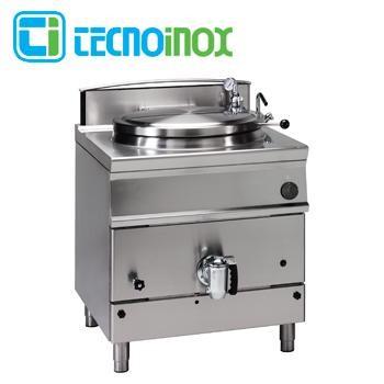 Gas-Kochkessel Tecnoinox 150 Liter P85FIG9 Gastronomie-Schnellkochkessel