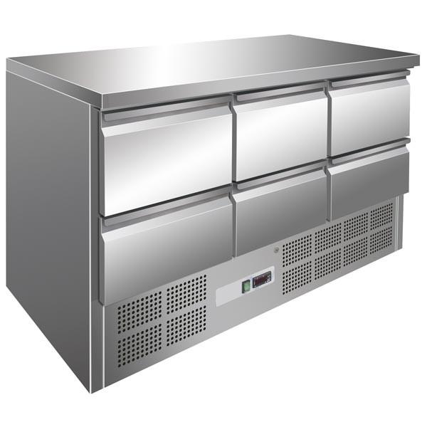 Gastrostellwerk Kühltisch 6 Laden