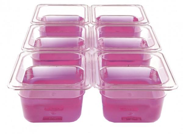 GN-Behälter Kunststoff 1/6 6,5 cm, 0,9 Liter