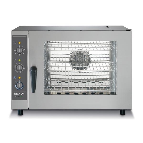 Gastronomie Konvektionsofen LAINOX 5 x GN 1/1 mit Befeuchter, Elektro Heissluftofen, 6,25kW