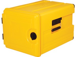 Kunststoff Thermoport 7 x GN 1/1, unbeheizt, Gastronomie Speisentransportbehälter, Frontlader