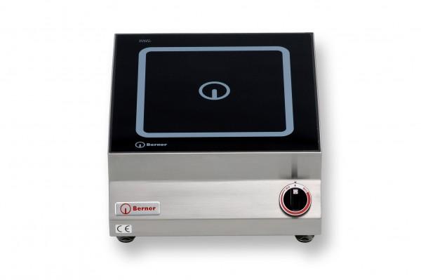 Berner BI1FP5 Tisch-Induktionskochplatte quadratisch