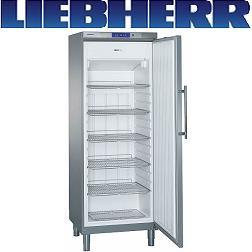 Liebherr GGv 5860 Tiefkühlschrank dynamische Kühlung Teil-Edelstahl