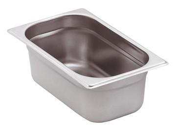 GN-Behälter Edelstahl 1/4 10 cm, 2,8 Liter
