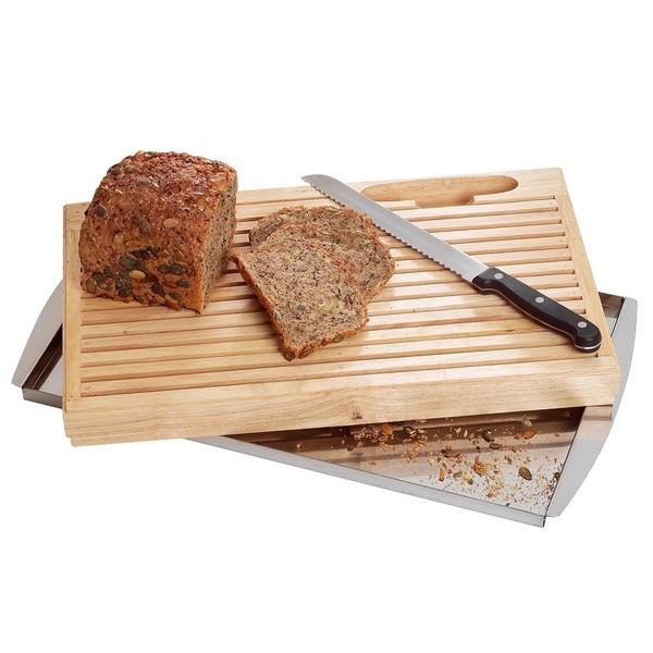 Bartscher Brot-Schneidebrett mit Messer - C120100