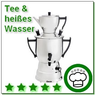 Tee & heißes Wasser