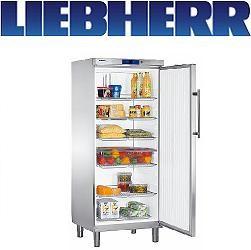 Liebherr GKv 5760 Umluft-Kühlschrank GN 2/1 Teil-Edelstahl