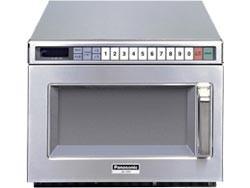 Gastronomie Edelstahl Mikrowelle Panasonic 18 ltr, NE-2156-2, 2100W