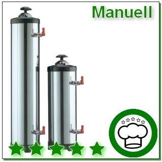 Manuelle Wasserenthärter