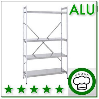 Aluminium-Regalsystem