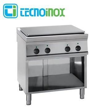 Elektro-Glühplattenherd 14 kW Tecnoinox PP8FE9 - Gastronomie-Fortkochplatte mit 4 Heizzonen