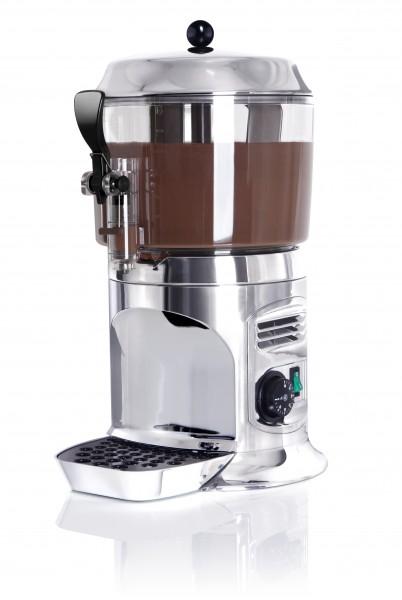 NOSCH Hotdrink-Dispenser / Schoko-Dispenser 5,0 ltr., silber mit Rührflügel
