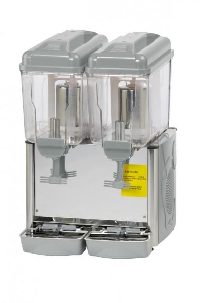 Weißes Kaltgetränke-Dispenser Saro Corolla - 2 x 12 Liter