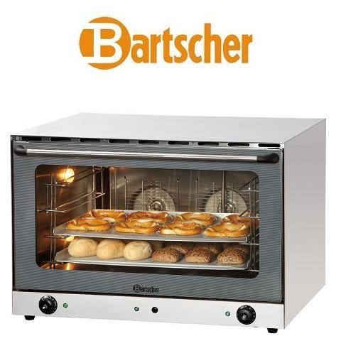 Bartscher AT400 Gastronomie-Heißluftofen 105780 mit Beschwadung 4 Bleche Euronorm 60x40 cm