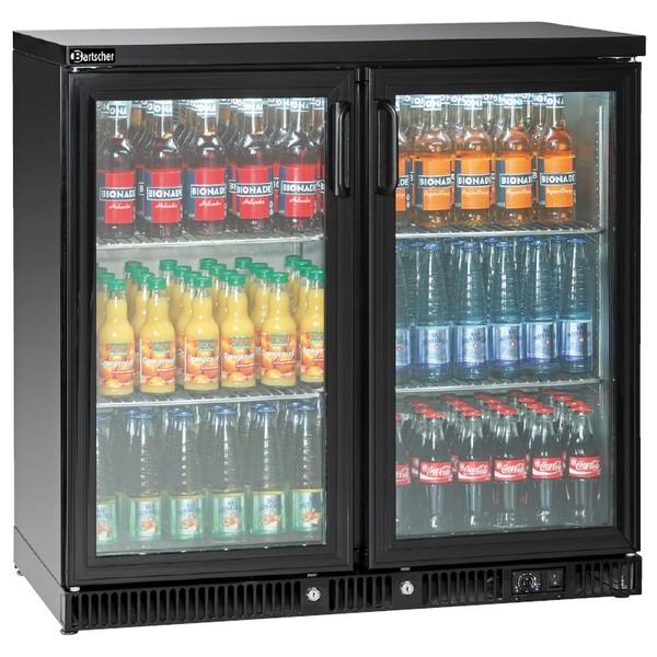 Bartscher Flaschenkühler 250L - 2 Türen - 110138