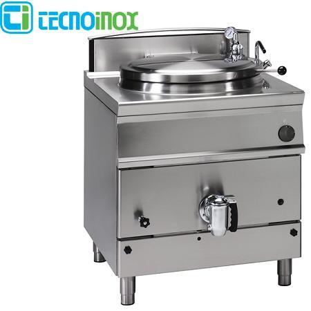Kochkessel Tecnoinox 50 Liter P8IG7 Gas-Schnellkochkessel