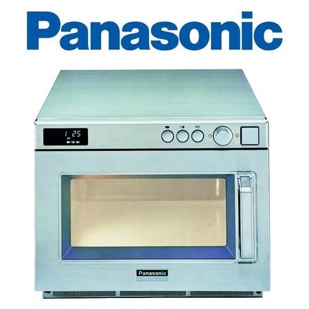 Gastronomie Edelstahl Mikrowelle Panasonic 18 ltr, NE-2146-2, 2100W