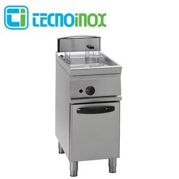 Gas-Fritteuse Tecnoinox 1x17 Liter 16 kW FRV47FG9 Gastronomie-Friteuse Profi 900