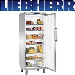 Liebherr GKv 6460 Umluft-Kühlschrank GN 2/1 Teil-Edelstahl