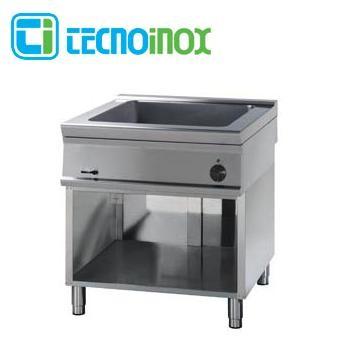 Elektro-Bain-Marie Tecnoinox BM8FE9 8 x GN 1/3 (2 x GN 1/1 + 2 x GN 1/3) Gastronomie-Speisenwärmer