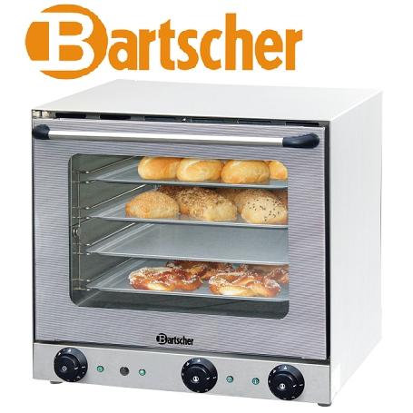 Bartscher AT120 Gastronomie-Heißluftofen mit Beschwadung und Grill 4 Bleche 43,3 x 33,3 cm