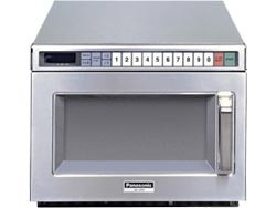 Gastronomie Edelstahl Mikrowelle Panasonic 44 ltr, NE-1880, 1800W