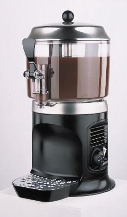 NOSCH Hotdrink-Dispenser / Schoko-Dispenser 5,0 ltr., schwarz mit Rührflügel