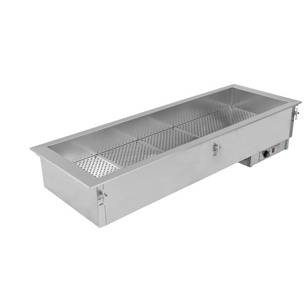 Einbau-Bainmarie Drop In Buffet, 4 x GN 1/1