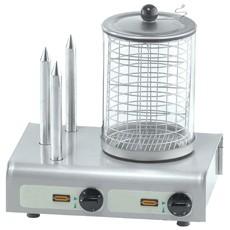 Hot-Dog Wärmer mit Toaster-Stäbchen (seitlich) von Neumärker