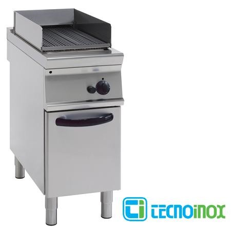 Gas-Vaporgrill Tecnoinox GD4FD7 mit 1 Heizzone / Gastronomie-Dampfgrill