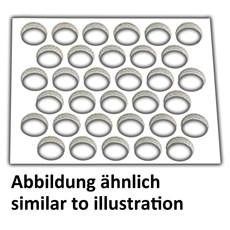Neumärker Tartlet-Ausstechmatte - 30 runde Formen