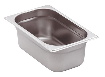 GN-Behälter Edelstahl 1/4 6,5 cm, 1,8 Liter
