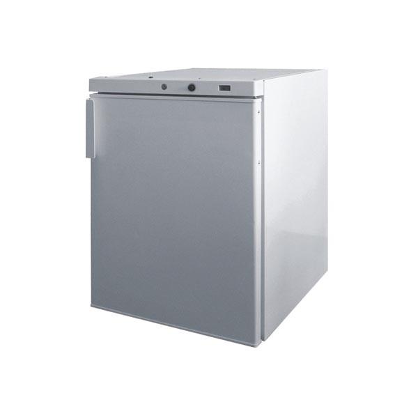 Gastrostellwerk Edelstahl Tiefkühlschrank 200 Liter