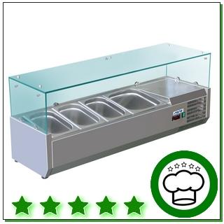 Aufsatz-Kühlvitrinen