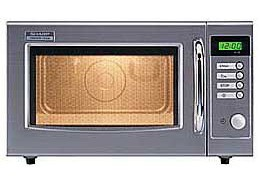 Gastronomie Edelstahl Mikrowelle Sharp 28 ltr, R-15 AM, 1000W