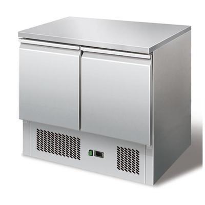Gastrostellwerk Kühltisch Ecoline I, Edelstahl, Umluft für die Gastronomie