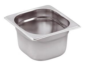 GN-Behälter Edelstahl 1/6 15 cm, 2,5 Liter