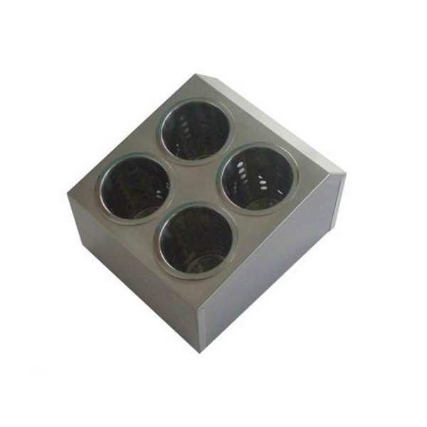 Besteckbehälter mit 4 Besteckköcher